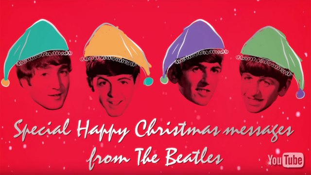 THE BEATLES COMPILE CHRISTMAS RECORDS FOR NEW COLORED VINYL