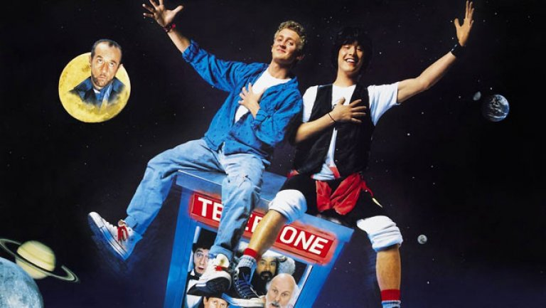 "KEANU REEVES AND ALEX WINTER RE-TEAMING FOR ""BILL & TED 3"""